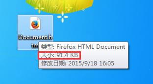 网页原始体积有91.4KB