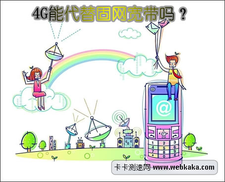 3G/4G不能代替固网宽带